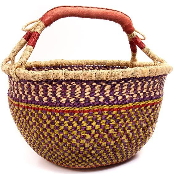 Market Basket- Bolgatanga Ghana-Assorted Colors and Patterns!