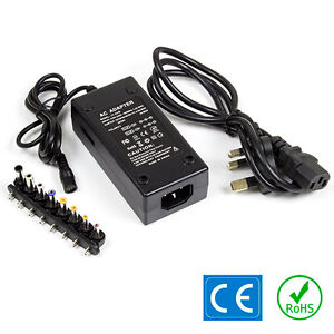 4.5A 20V/24V 4A 12V/15V/16V/18V/19V AC-DC Adaptor Power Supply 3.5mm x 1.35mm