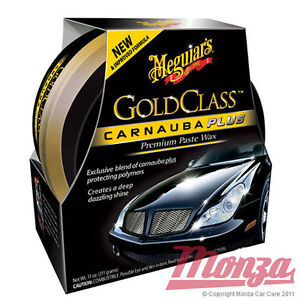 Meguiars Gold Class Carnauba Plus Paste Car Wax **COMPLETE KIT**