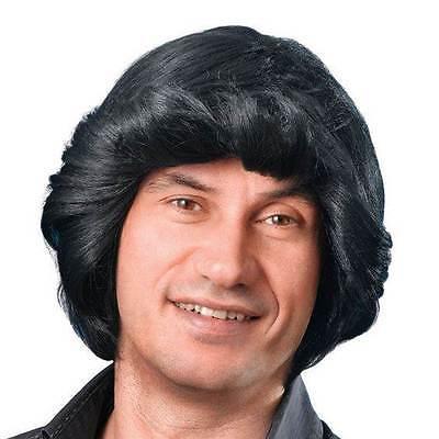 TONY PERÜCKE. SCHWARZ, AUTOVERKÄUFER, PARTY PERÜCKE HALLOWEEN #DE