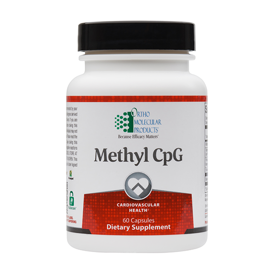Ortho Molecular - Methyl CpG - 60 count  Free Shipping