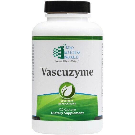 Ortho Molecular Products Vascuzyme Multi Enzyme Formula 240 caps