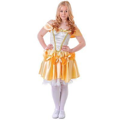BELLE BEAUTIFUL TEEN TEENAGE LADIES FANCY DRESS (Belle Teen Kostüme)