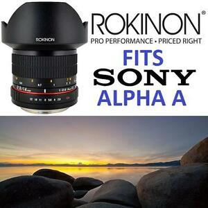NEW OB ROKINON SONY 14mm f/2.8 LENS CAMERA F2.8 IF UMC ED Ultra Wide Alpha A MOUNT 106103825