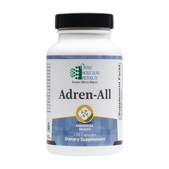 Ortho Molecular Products Adren-All 120 cps 03/22
