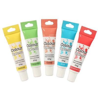 Colour Splash Colorante Alimentario Gel Juego 5pc