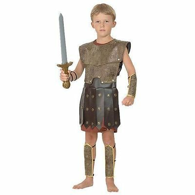 Jungen Krieger Römisch Griechisch Soldat Kostüm