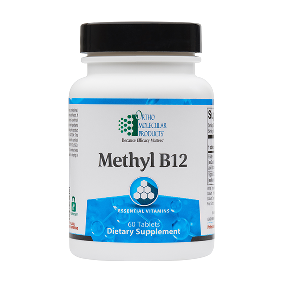NEW*Ortho Molecular Products Methyl B12 60 Tablets Exp. 08/21