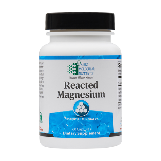 Ortho Molecular -Reacted Magnesium - 60 capsules