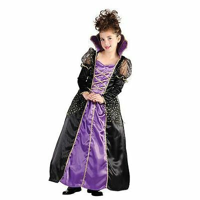 GIRLS MAGICAL PRINCESS TUDOR ELIZABETHAN  HALLOWEEN FANCY DRESS COSTUME