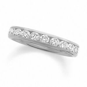 0.25 CT. T.W. Diamond Channel Band in 14K White Gold