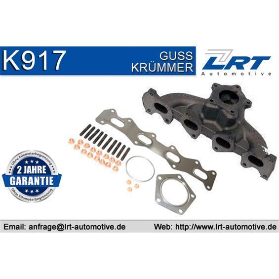 LRT K917 Abgaskrümmer inclusive Anbauteile FIAT