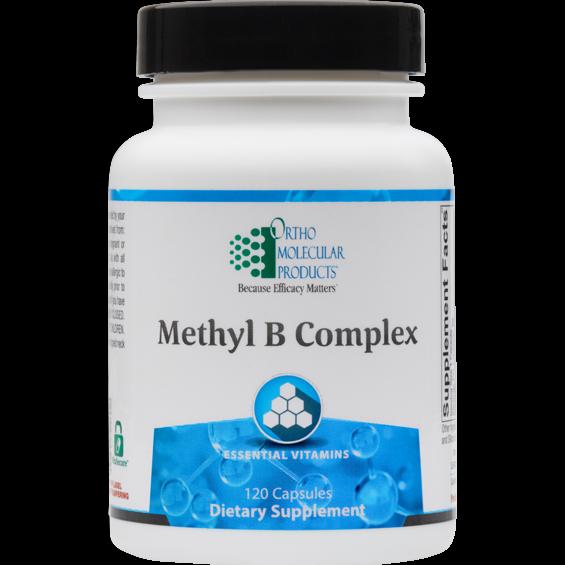 NEW* Ortho Molecular- METHYL B COMPLEX -120 capsules  08/21