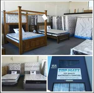 NEW POCKET SPRING MATTRESSES ALL SIZES MEM GEL LOW PRICES TOP MAT Bungalow Cairns City Preview