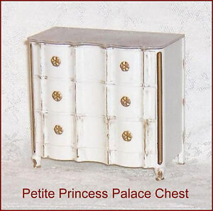 Petite Princess  Dollhouse Furniture  Palace Chest of Drawers