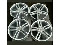"GENUINE AUDI 20"" ALLOYS. A6 Allroad or S Line Part no 4G9 601 025 B"