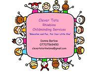 Clever Tots Rhiwbina Childminding
