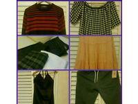 Black bag clothes bundle