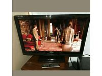 "32""Toshiba LCD tv HD ready with built-in freeview."