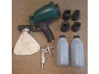 Sand blaster for air compressor