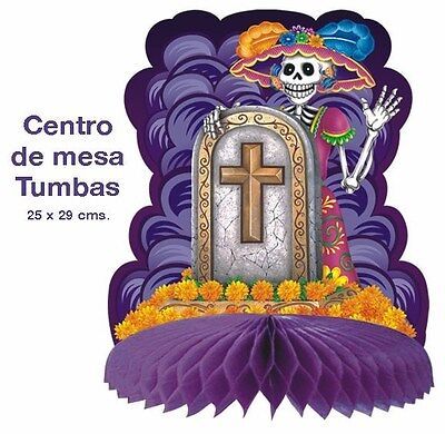 TABLE DECORATION ! CATRINA  DAY OF THE DEAD    DIA DE LOS MUERTOS      AWESOME ! - Dia De Los Muertos Decorations