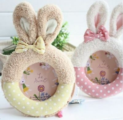Japanese cartoon Le sucre Rabbit baby/Kids plush photo frame limited quantity