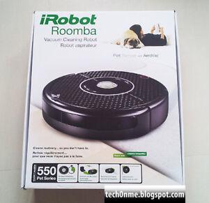 Roomba 550 Pet Series