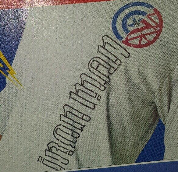 #LOOTCRATE LVL+ EXCLUSIVE Captain America v Iron Man Long Sleeve Shirt 3XL