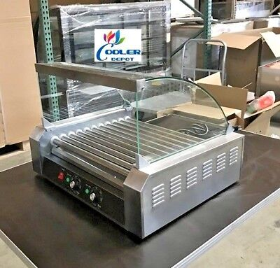 New Hot Dog Snack 11 Roller Cover Vending Machine Counter Top Nsf Etl Certified