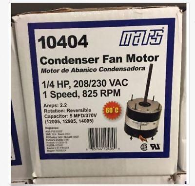Mars 14hp 208-230v 825rpm Condenser Motor 10404