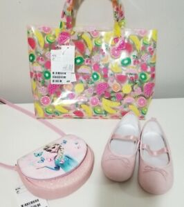 Little girl set: purse, shoes, tote bag. H&M. Brand NEW w/ TAGS