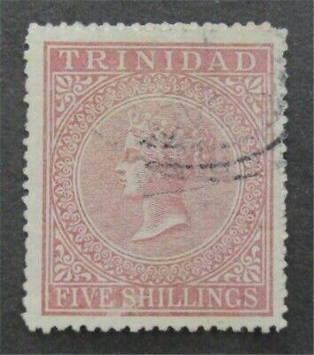 nystamps British Trinidad Stamp # 56 Used $90   L23x2406