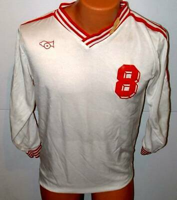 Cannon  Soccer Rugby   Team Gear jersey large white medium # 8