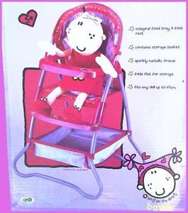 Br-New-Beautiful-High-Chair-Baby-Doll-Feeding-Kids-Children-Toys-Pet-Seat-Gift