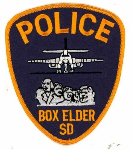 SOUTH DAKOTA SD BOX ELDER POLICE NEW SHOULDER PATCH SHERIFF