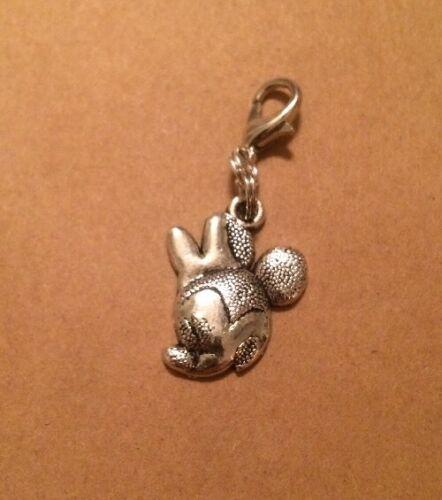 DISNEY Minnie Mouse Head Purse -Zipper Pull -Backpack Dangle