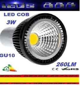 BOMBILLA-FOCO-LED-COB-GU10-3W-BLANCO-FRIO