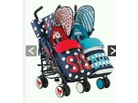 Brand new still in box Double Pushchairs