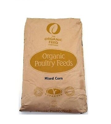 Allen & Page Organic Feed Company Mixed Corn 20kg Poultry Chicken Food Feed Seed