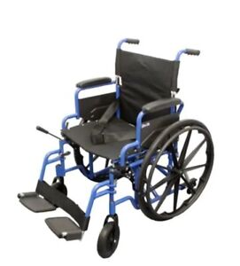 Like New Wheelchair - easy to fold - Comes with swing-away arms