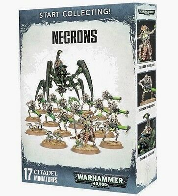 Start Collecting! NECRONS-New Games Workshop Warhammer 40K -LAST Lot+Ships FAST!