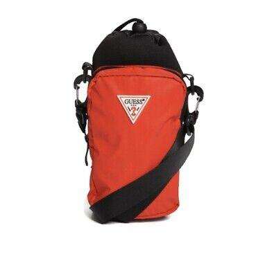 GUESS Unisex Crossbody Bag / Water Bottle Holder