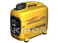 Kipor IG1000 generator.