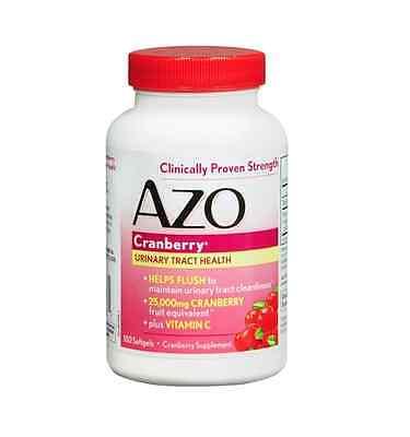 AZO Cranberry, Maximum Strength, Softgels 100 ea