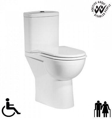 Tavistock Micra Comfort Height Elderly Disabled Docm Close Coupled Toilet Wc Pan