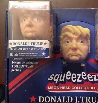 (1) Donald J. Trump SqueezeEz Big Head-Doll Stress Ball Toy figure + Free SHIP