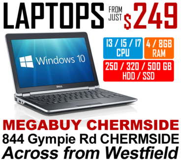 CHEAP i5 LAPTOPS WITH WARRANTY - FROM JUST $249