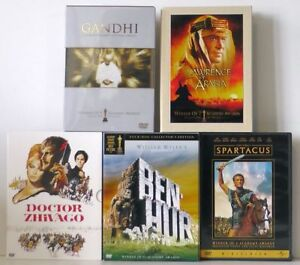 Classic screen epics DVD collection.