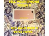 IPHONE 7, IPHONE 7 PLUS, S8, WANTED GET CASH NOW !!!