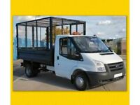 RUBBISH & WASTE REMOVAL same day service tip runs man & van all areas house clearances free qoutes